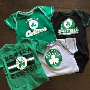 NBA One Pieces - Boston Celtics NBA Baby Boy Bundle 5ef8395c1